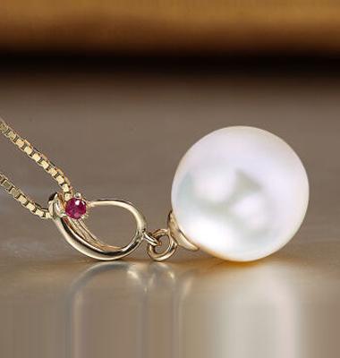 天然珍珠耳环